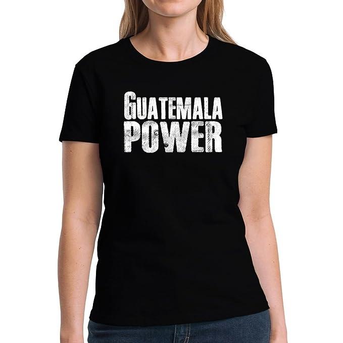 Eddany Guatemala Power Camiseta Mujer