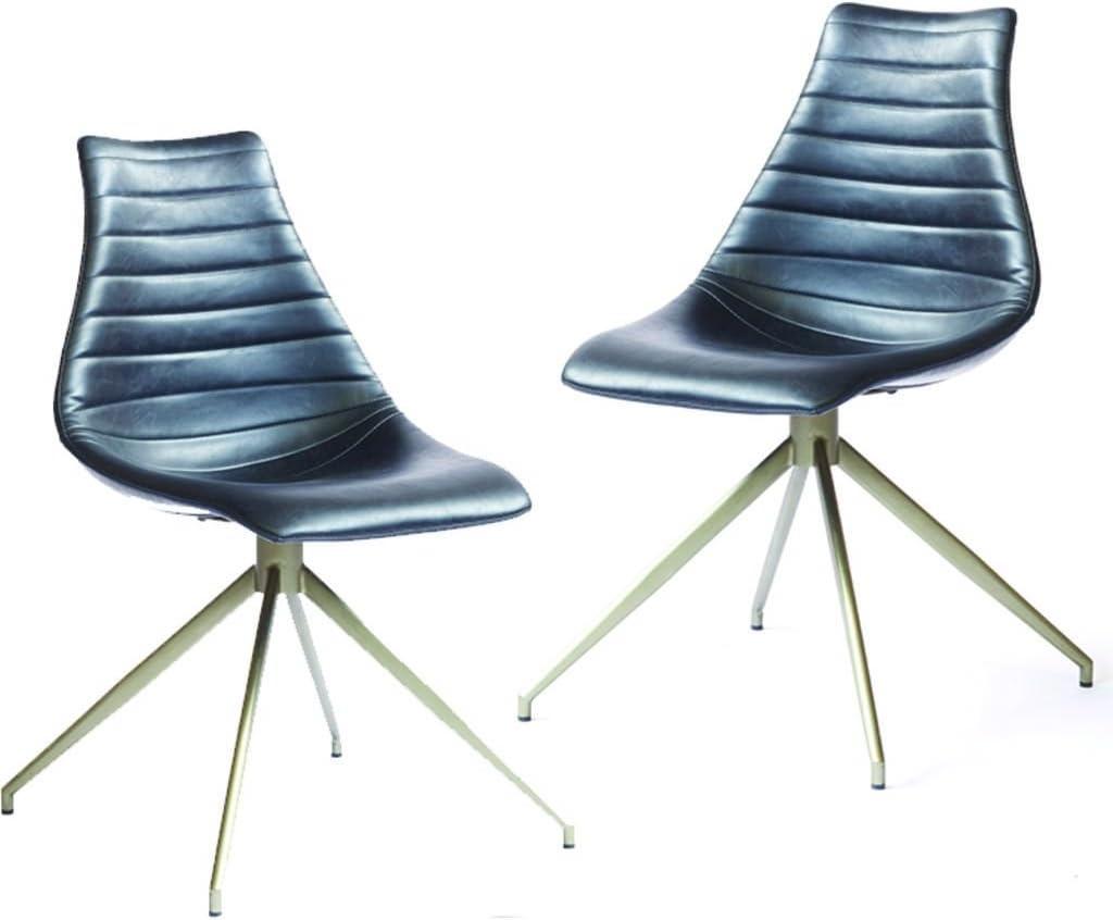ION Design Ethan Ensemble de chaises de Salle à Manger Noir