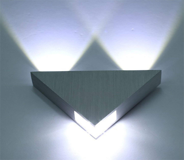 Blanco Fr/ío Unimall Moderno Aplique de Pared LED en Interior L/ámpara Iluminaci/ón de Ba/ñador Bombillas Inclu/ídas