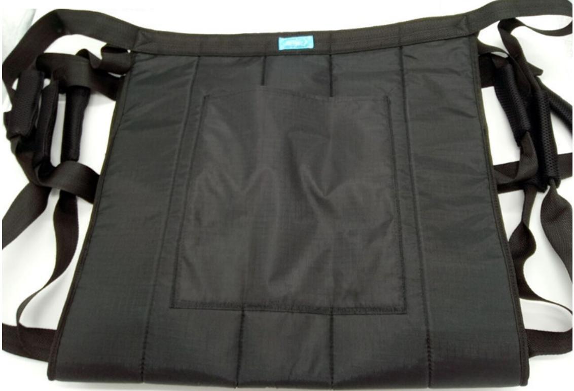 LUCKYYAN Healthcare Moving and Handling Transfer Glide Sheet - Waist/Leg Reinforcement Belt - BLACK - 50cm46cm