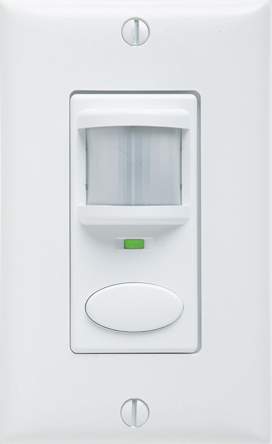 White WSD PDT VA WH Dual Technology Vacancy Only SENSORSWITCH WSD-PDT-VA-WH ACUITY Wall Switch Decorator Sensor