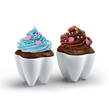 Image result for cupcake in a tooth