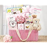 Bundle of Joy Pink Baby Girl Gift Basket