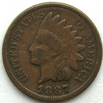 1887 Indian Head Cent Good