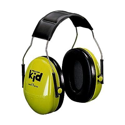 """Peltor Kid"" Ear Muffs verde neon: Bricolaje y herramientas"