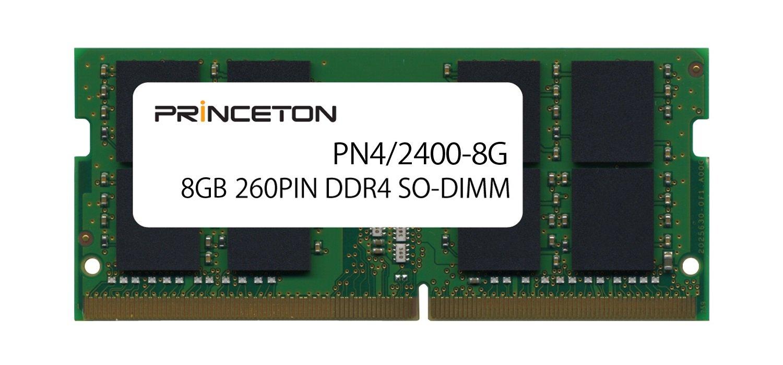 プリンストン DOS/V ノートPC用メモリ 8GB PC4-19200(DDR4-2400) CL=17 260PIN SO-DIMM PDN4/2400-8G B06VW1FQ9B