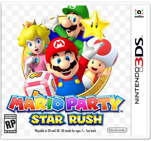 Mario Party Star Rush - Nintendo 3DS (Best 3ds Role Playing Games)