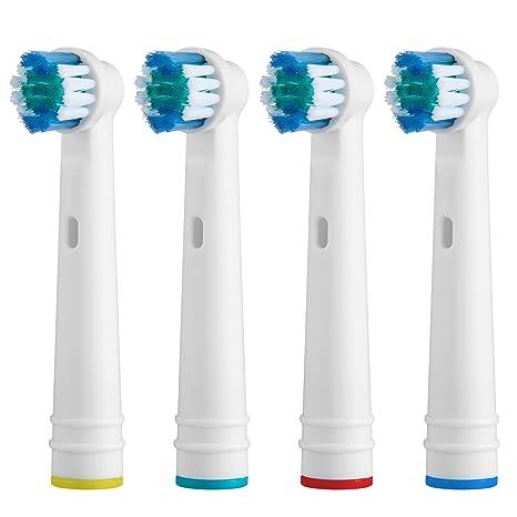 Express-Mall - Cabezales de Repuesto para Cepillo de Dientes eléctrico Oral B Braun (