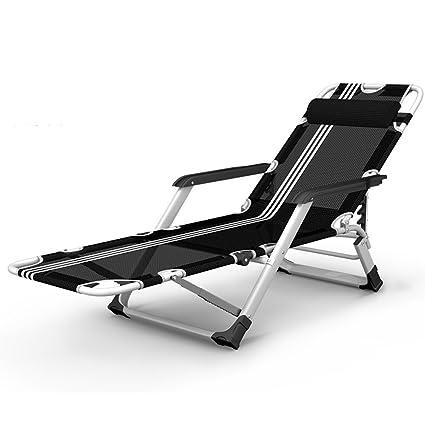 MDBLYJSilla de Cubierta Sillones Plegables, sillas de Playa ...