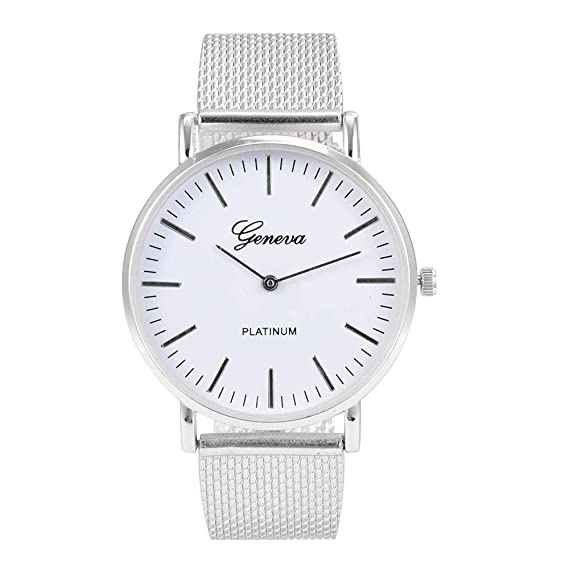 Beladla Relojes Hombre Negocio Horas De Moda Simple Reloj De Cuarzo Esfera Redonda Deportivo CronóGrafo Reloj De Pulsera: Amazon.es: Ropa y accesorios