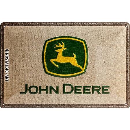 John Deere USed Here Blechschild 22130 Neu 20 X 30 cm