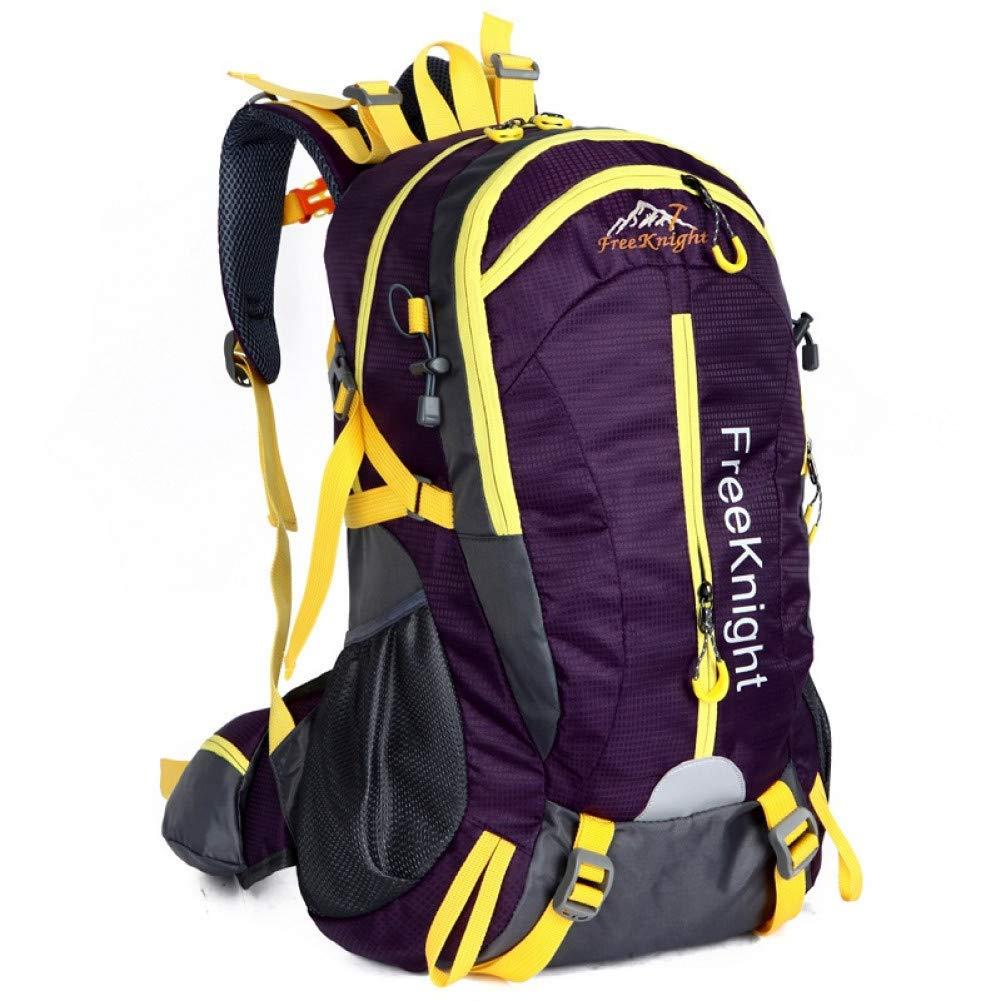 Zwarte kleur  XXYQ Sacs à dos de randonnée Sac à Dos étanche Voyage en Plein Air Unisexe Sacs Sac à Dos