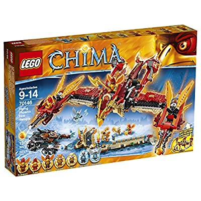 LEGO® Chima, Flying Phoenix Fire Temple Building Toy - Item #70146