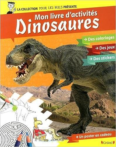 Livre gratuits POUR LES NULS ACTIVITES - Les Dinosaures epub, pdf