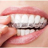 2Pcs/par transparente thermoform moldeable la boca dientes bandejas