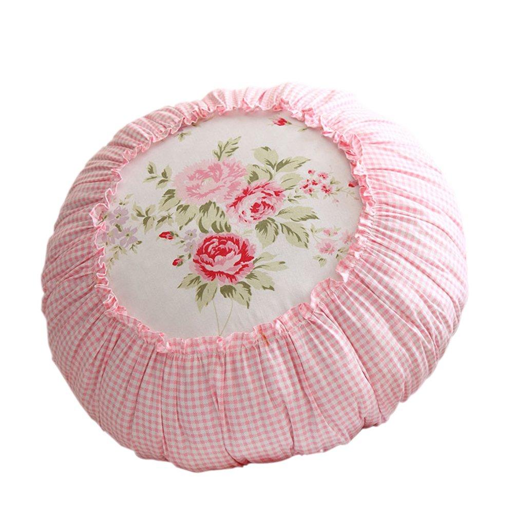 Coreano divano rosa carino guanciale/floreale zucca WANG