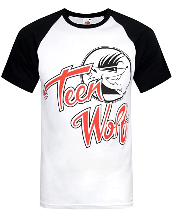 Teen Wolf Raglan Baseball Shirt, S to XXL