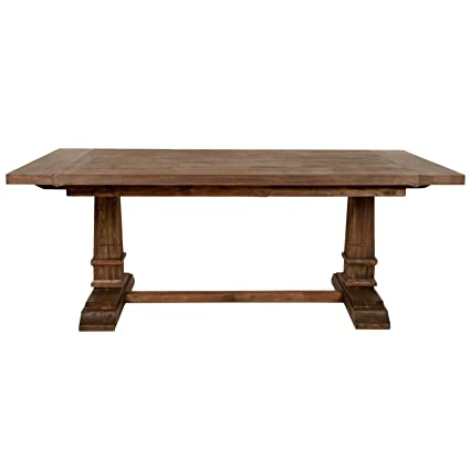 Amazon Hudson Extension Dining Table Rustic Java Tables Cool Dining Room Tables With Extensions