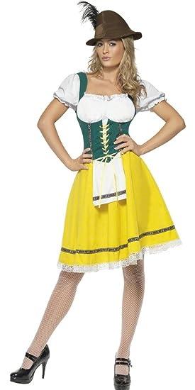 91f8f34bd40 Ladies Classic Oktoberfest Serving Wench Bavarian Uniform International Hen  Do Beer Festival Fancy Dress Costume Outfit