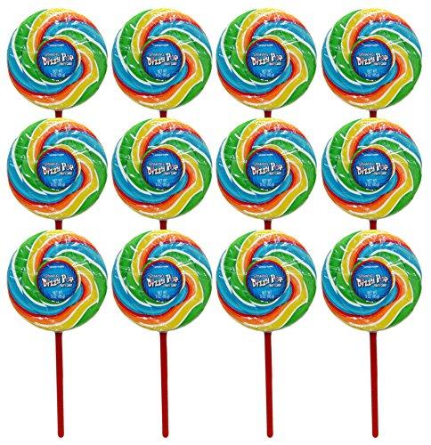 Diameter Pop (Set of 12 Spinning Dizzy Pops! 3.63