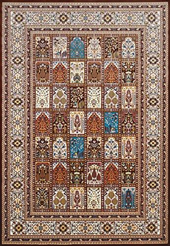 10' Dark Splash - United Weavers Antiquities Mecca Dark Brown Oversize Rug 7'10'' X 10'6''
