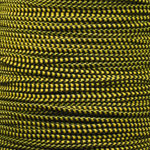 """PARACORD PLANET Elastic Bungee Nylon Shock Cord 2.5mm 1//32 1//4 1//16 3//8 5//8 3//16 5//16 1//2 inch Crafting Stretch String 10 25 50 /& 100 Foot Lengths Made in USA 1//8/"""""""