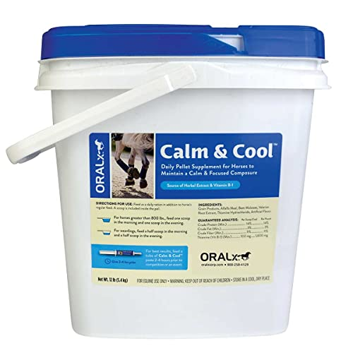 Oralx Corporation Calm and Cool Pellet for Horses