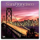 #9: San Francisco 2019 12 x 12 Inch Monthly Square Wall Calendar with Foil Stamped Cover, USA United States of America California Pacific West Coast City