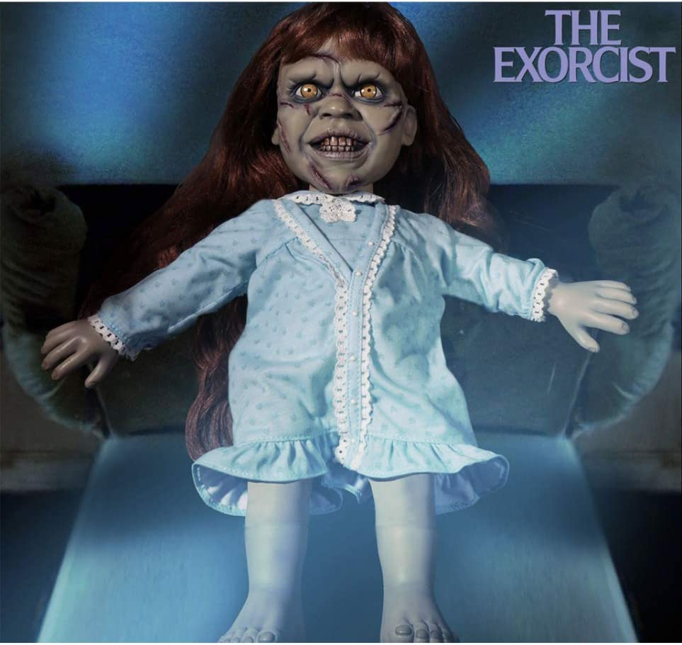 Horror-Shop La Muñeca De Colección Exorcista con Sonido: Amazon.es ...