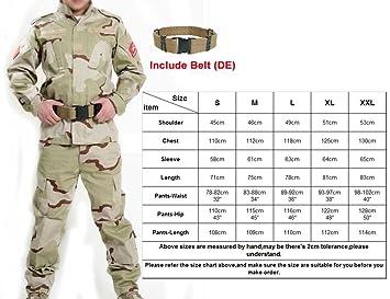 Amazon.com : H World Shopping Men Tactical BDU Combat ...