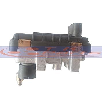 tkparts nueva G-77 G77 6 nw009550 767649 Turbo eléctrico actuador wastegate ladedruckregler para VW