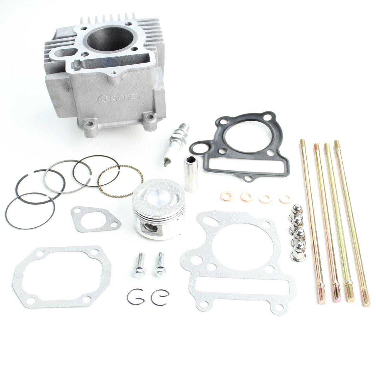 Niche Industries 1905 Polaris Sportsman 90 Cylinder Piston Gasket Stud Top End Kit 2007-2016
