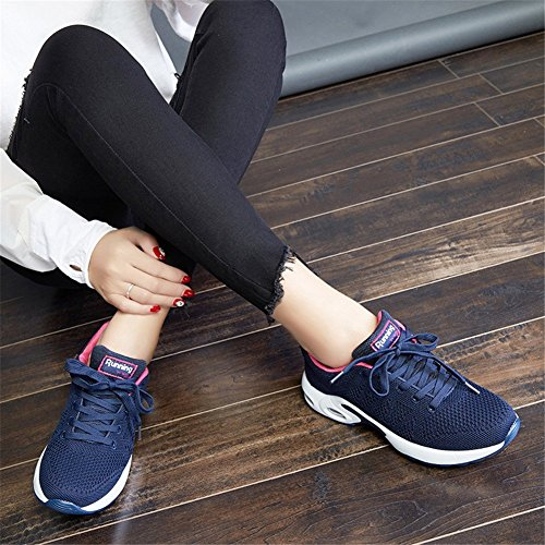 Running Air 43 Sport 34 Sports Baskets Homme Gym Eu Femme Chaussure Fitness Bleu Course Sneakers 1 De X5xwSq4
