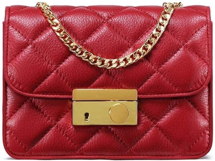 LXDDJsl - Bolso de Asas para Mujer Rojo Rojo Rojo