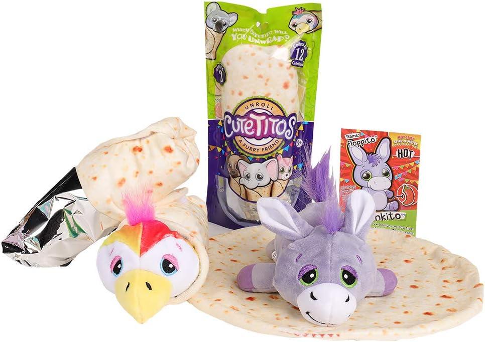 CUTETITOS series 2 babitos unwrap whats inside! unroll a baby furry friend!!