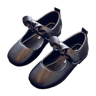 Amazon.com: linkey bebé niña Mary Jane Iglesia Zapato ...