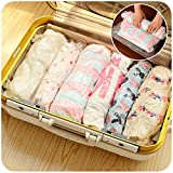 Travel Space Saver Bags 12 Pack Roll Up Compression No Vacuum Needed Storage Bags for Luggage Clothes & Home Closet, #1 Perfect Christmas Gift for Frequent Travelers