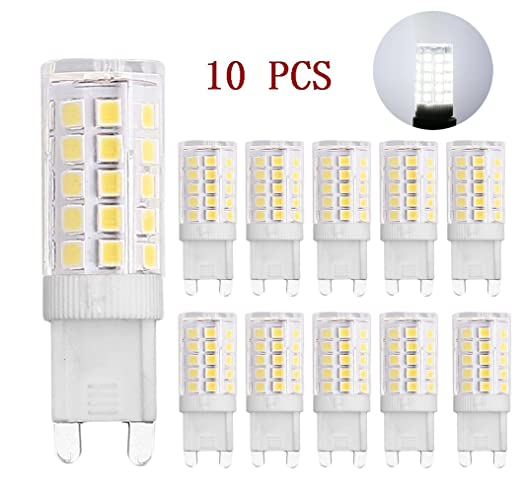 Bombillas LED G9, MENTA, 5 W, luz blanca fría 6000 K 330 lm