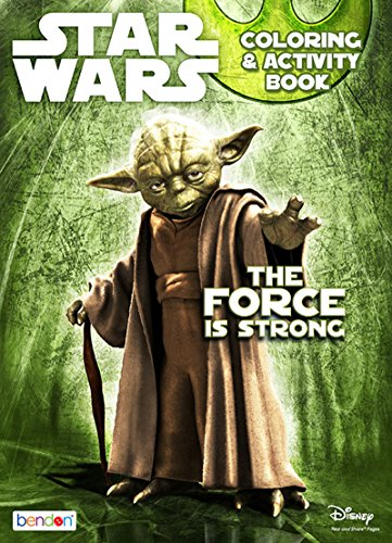 (Star Wars 128-Page The Force is Strong Coloring and Activity)