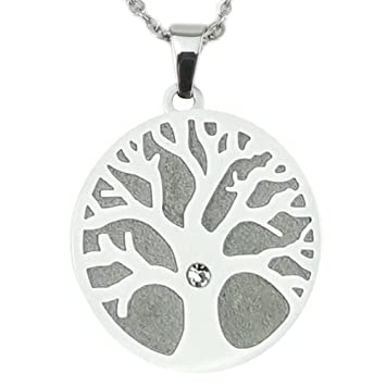 Amazon tree of life magnetic pendants with swarovski ice tree of life magnetic pendants with swarovski ice crystal chain energetix 4you 2793 aloadofball Images