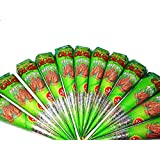 Neha Henna cones Pack of 6 (Free henna oil)