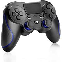 Game Controller voor PS4, CestMall Wireless PS4 Remote Controller Grip voor Playstation 4, Dual Vibration Shock USB…