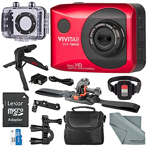 Vivitar DVR786 Full HD Waterproof Action Camera  Accessory B