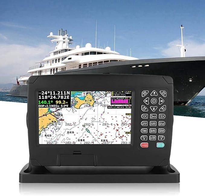 Navegador Marino, XF-607 Pantalla a Color de 7 Pulgadas Alto Brillo Gran Angular de Visión Navegador GPS 200 Rutas 10,000 Puntos de Referencia Localizador Navegación GPS con Carta Voz Inteligente etc: Amazon.es: Hogar