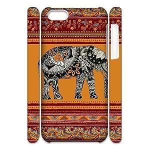 diy phone caseCustom New Case for iphone 5/5s 3D, Indian Elephant Phone Case - HL-R644253diy phone case