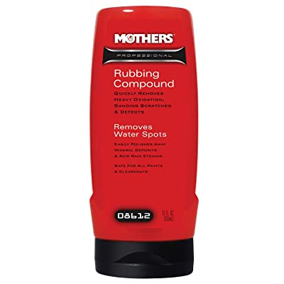 Mothers 08612 Professional Rubbing Compound