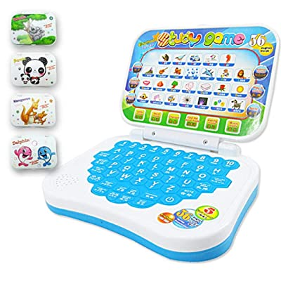 YENJO Baby Multifunction Language Learning Reading Machine Kids Educational Toys Electronic Learning Toys: Clothing