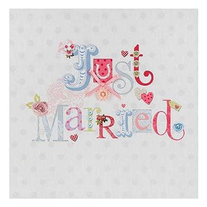 Hallmark - Tarjeta de felicitación para boda (con textura, tamaño ...