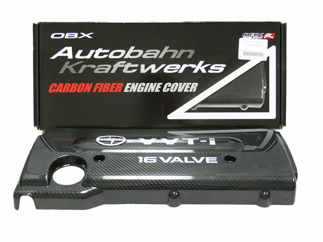 OBX Racing Sports Carbon Fiber Engine Cover For 05 06 07 08 09 10 Scion tC 2.4L