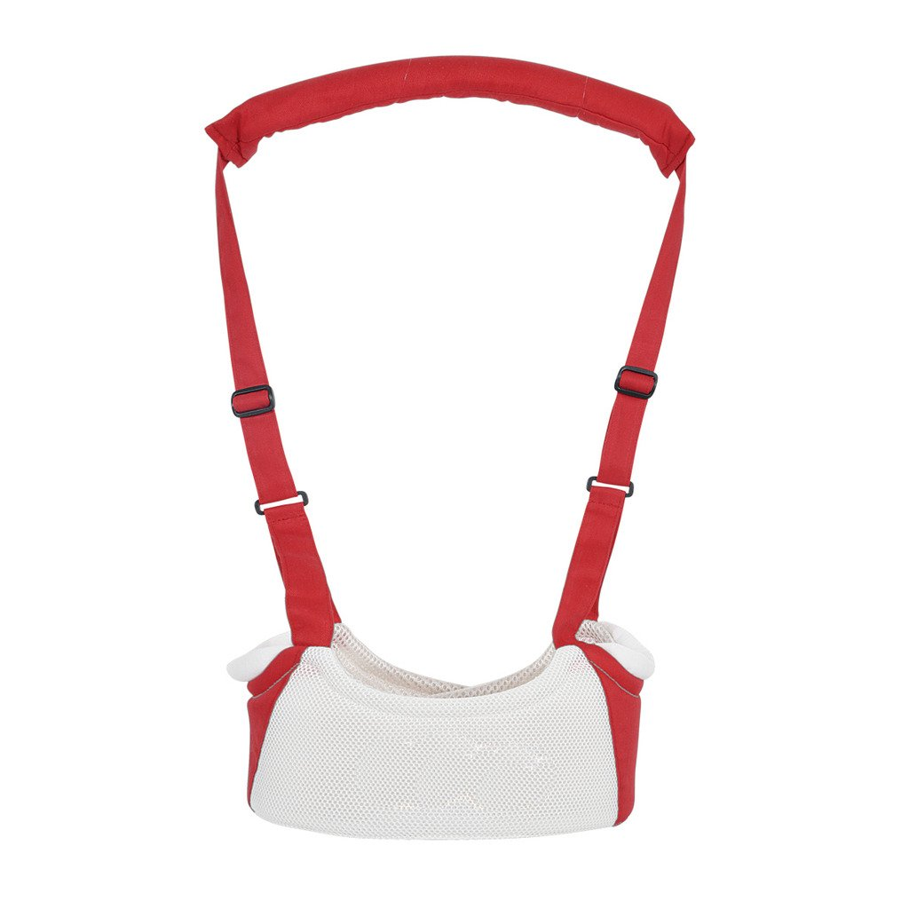 Tofern Baby Toddler Safety Harness Reins Baby Walking Assistant Learning Walk Harness walker Wings - Red